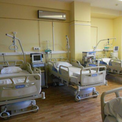 Отделение анестезиологии-реанимации с палатами реанимации и интенсивной терапии