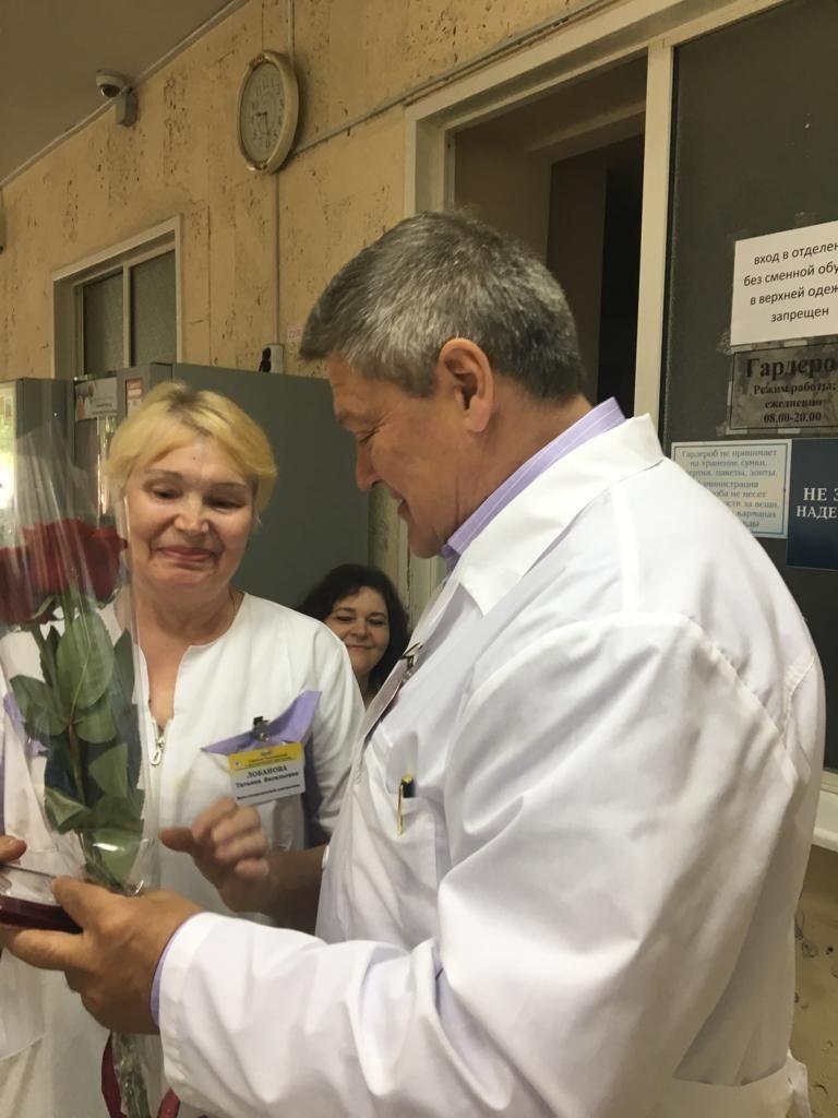 Награждение сотрудников ГБУЗ «ГКБ им. Ф.И. Иноземцева ДЗМ»